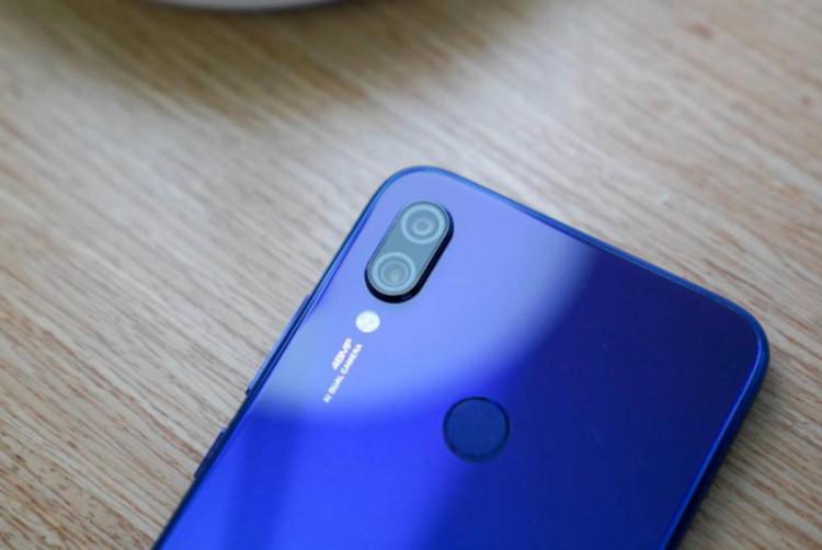 Camera sau của điện thoại Xiaomi Redmi 7 chính hãng