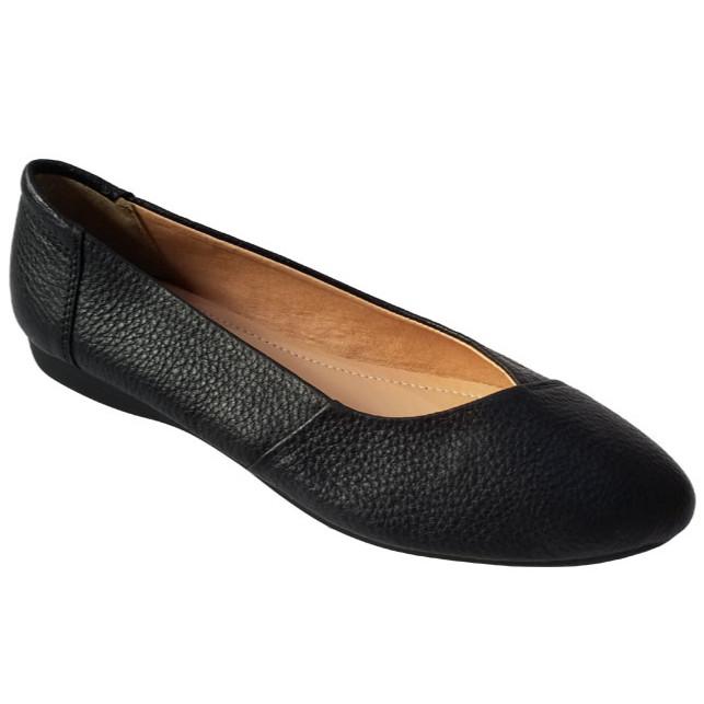 Giày búp bê nữ da bò thời trang cao cấp HKT17