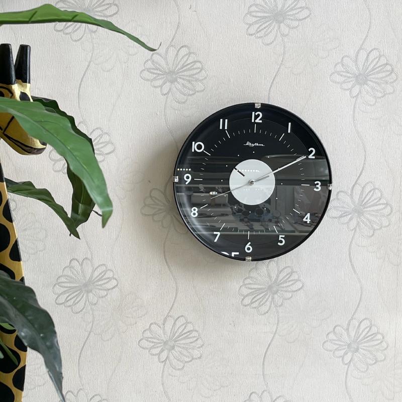 Đồng hồ treo tường Nhật Bản Rhythm CMG475NR02 - Kt 30.0 x 4.5cm, 585g.