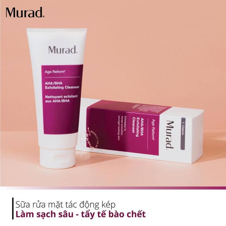 AHA/BHA Exfoliating Cleanser Muradvietnam