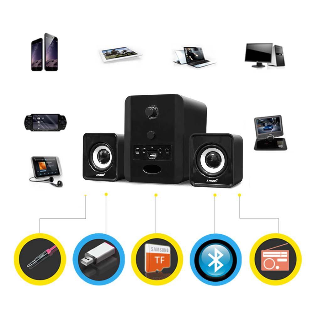 Hàng Chính Hãng - Loa Máy Vi Tính SADA D-223, Hỗ Trợ Bluetooth, USB, Thẻ Nhớ, Jack 3.5mm