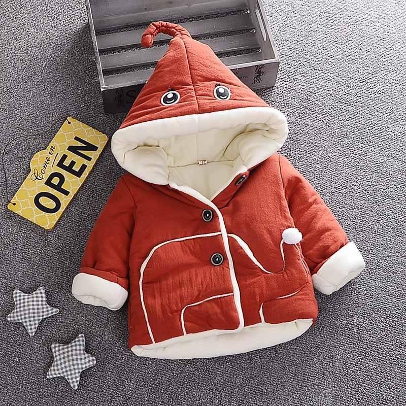 Áo khoác VOI chần bông ấm áp cho bé gái 12-15kg