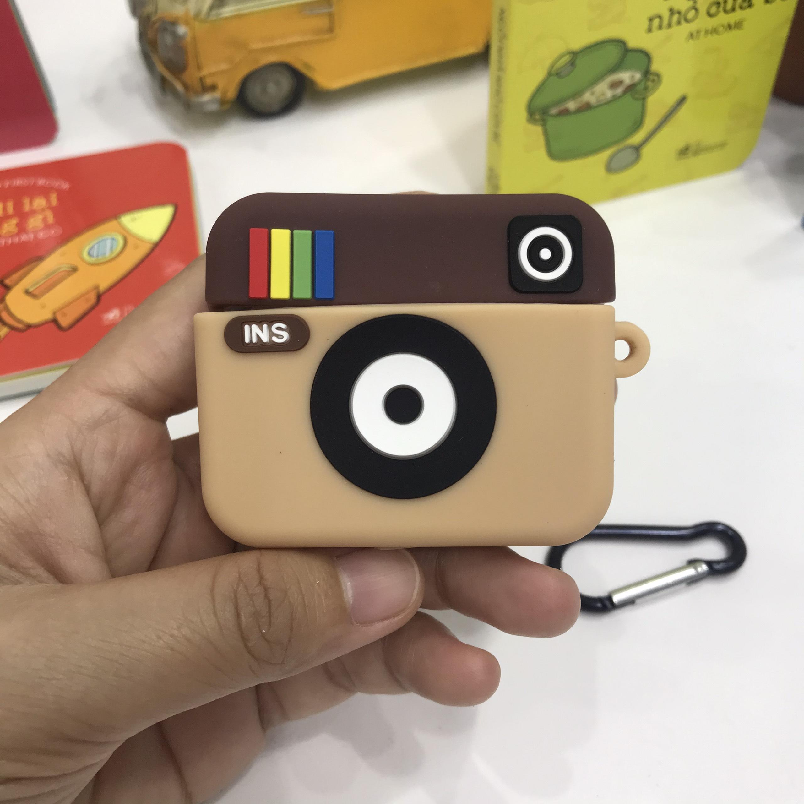 Bao Case Silicon Cho Tai Nghe Apple AirPods Pro - Hình Icon