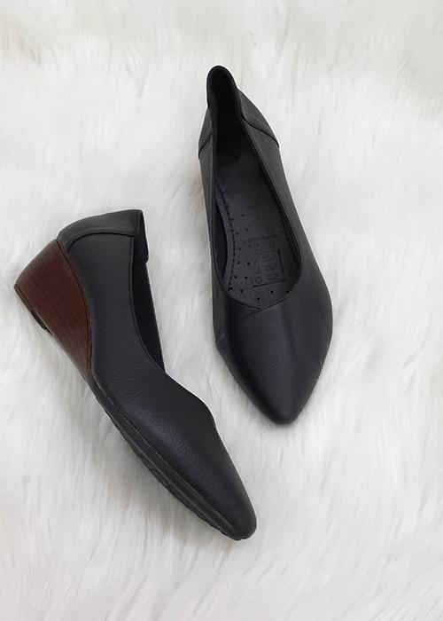 Giày Bít Mũi Đế Xuồng 018