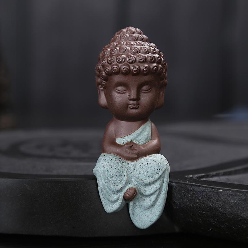 Tượng Phật Thiền Thích Ca Gốm Tử Sa