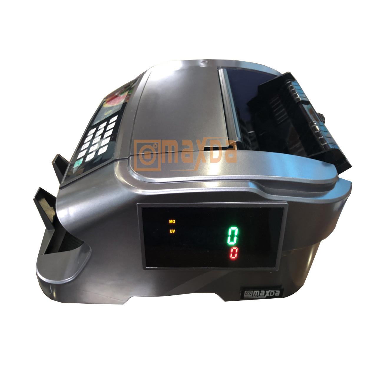 Máy đếm tiền công nghệ Nhật Bản kiểm tra ngoại tệ VND, USA, ERO, CNY Maxda 38 Pro - Hàng chính hãng