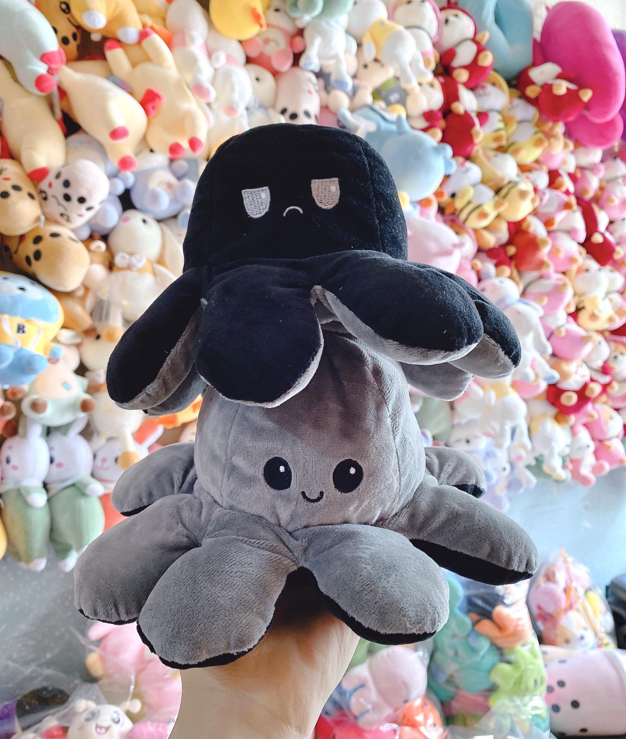 Gấu bông bạch tuộc cảm xúc 2 mặt biểu cảm mini 20cm