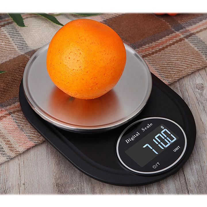 Cân điện tử nhà bếp 5kg - Cân thực phẩm để bàn
