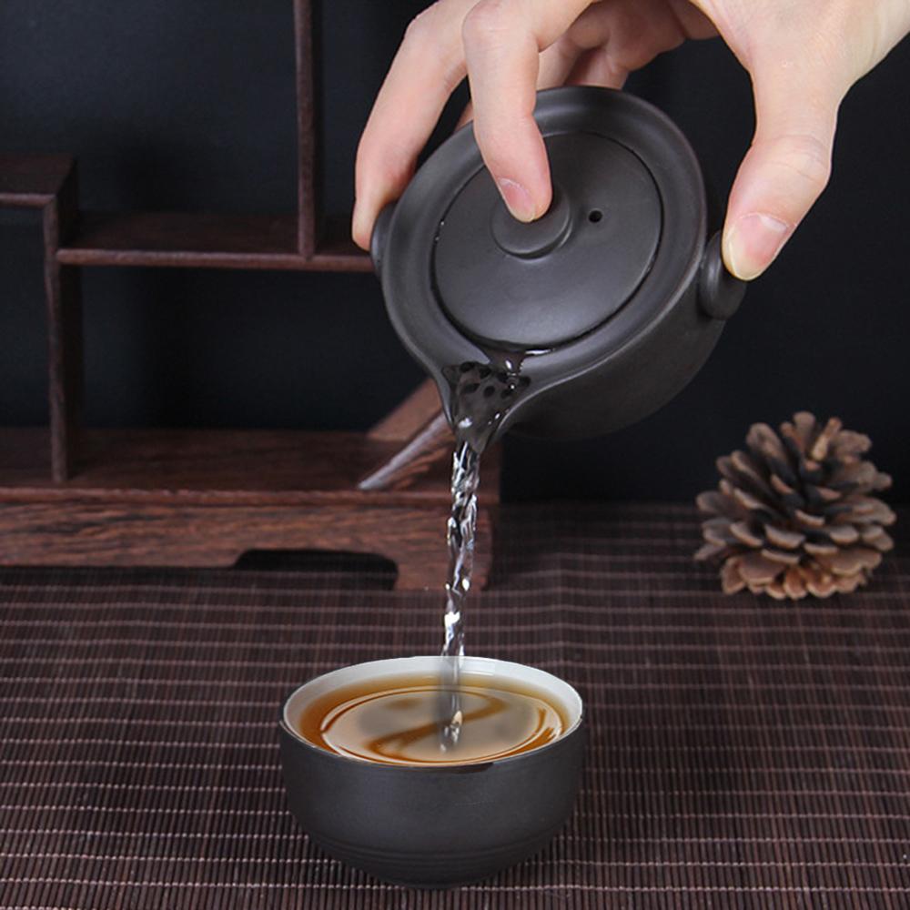 Bộ ấm chén độc ẩm tử sa tinh hoa trà đạo