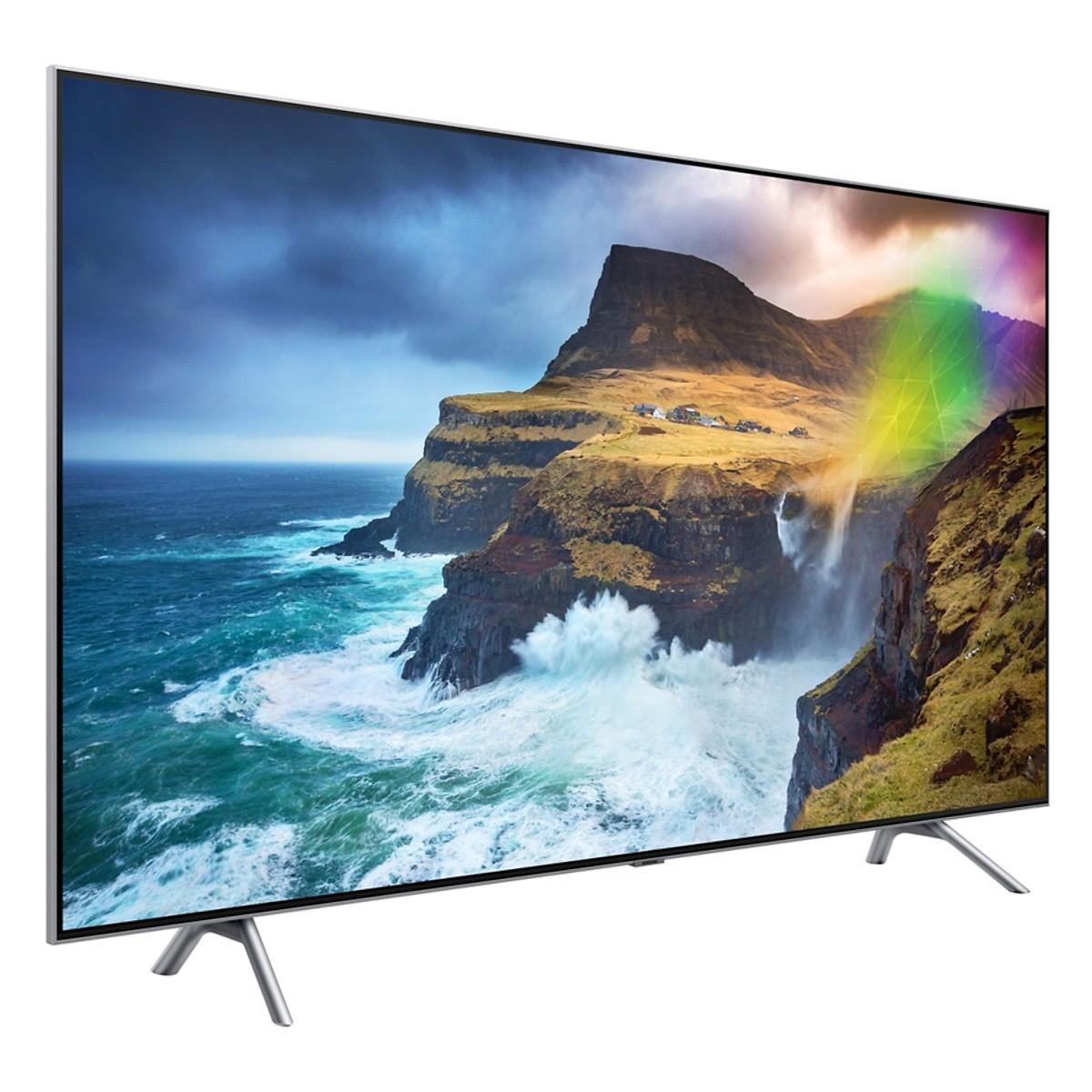 Smart Tivi QLED Samsung 75 inch 4K UHD QA75Q75RAKXXV - Hàng Chính Hãng + Tặng Khung Treo Cố Định