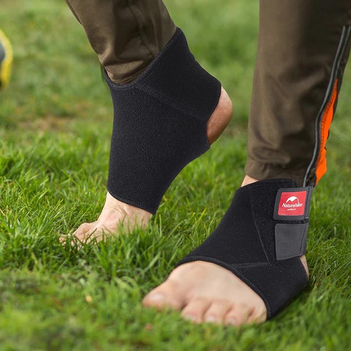 Băng bảo vệ cổ chân mắt cá chân Băng quấn cổ chân mắt cá chân Đai bảo vệ cổ chân mắt cá chân Naturehike NH05A002-B hàng chính hãng chất liệu thoáng khí co giãn tốt hỗ trợ bạn khi tham gia các hoạt động thể thao