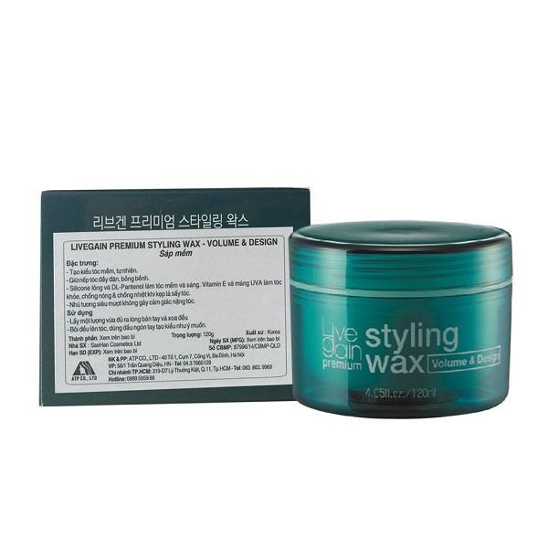 Sáp Mềm Livegain Premium Styling Wax 120g