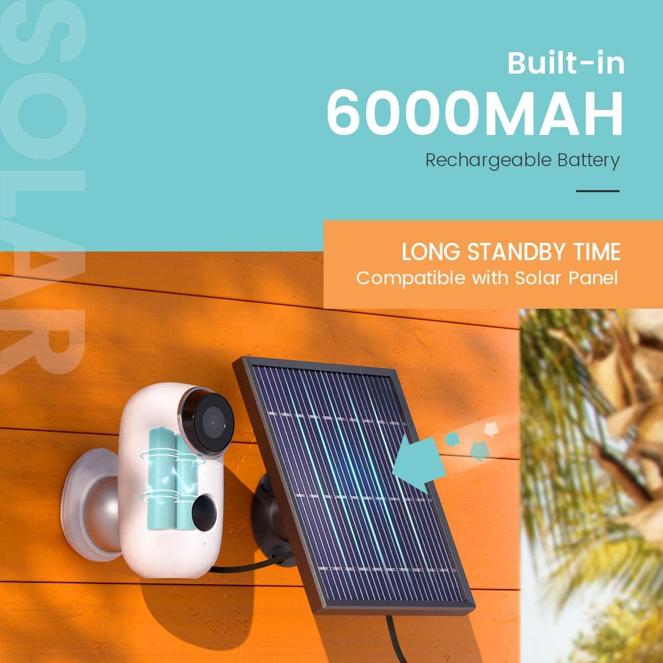Camera Năng Lượng Mặt Trời Không Dây Heimvision HMD2 1080p - Hàng Chính Hãng