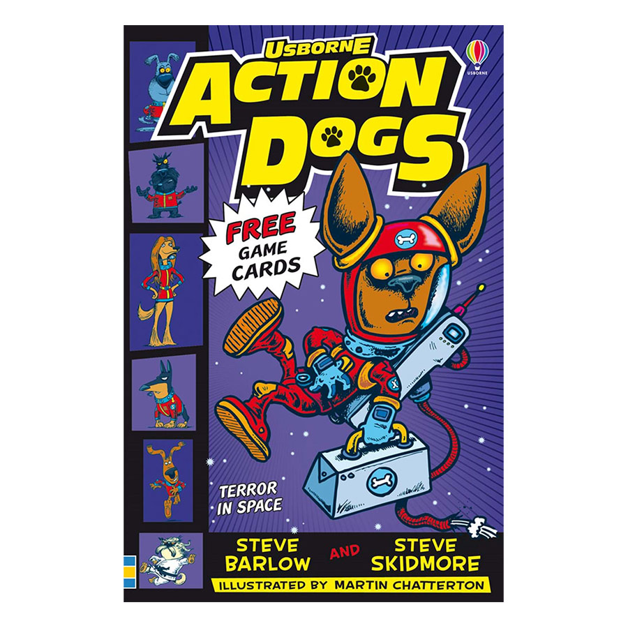 Usborne Young Fiction Action Dogs: Terror In Space