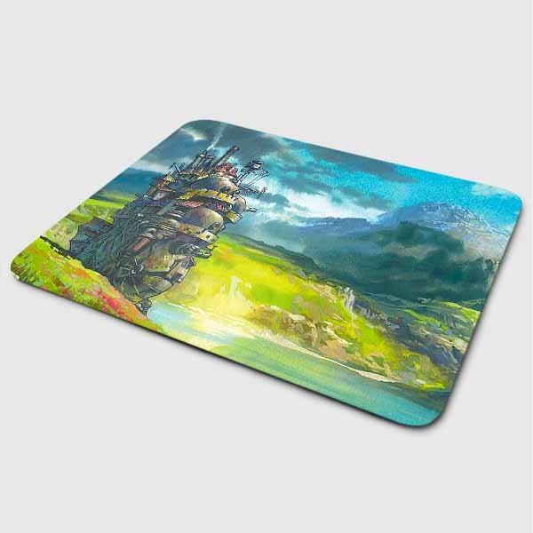 Miếng lót chuột mẫu Anime Núi Và Biển (20x24 cm) - Hàng Chính Hãng