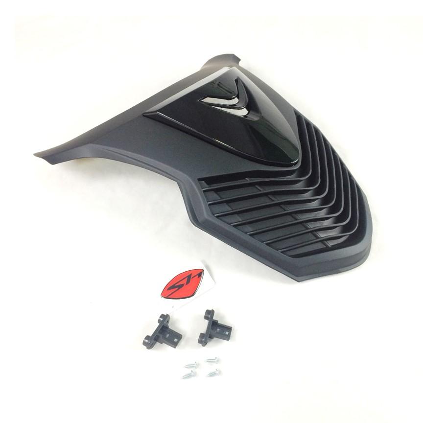 Mặt nạ dành cho xe SH 150 độ SH Ý (Màu Đen Bóng)