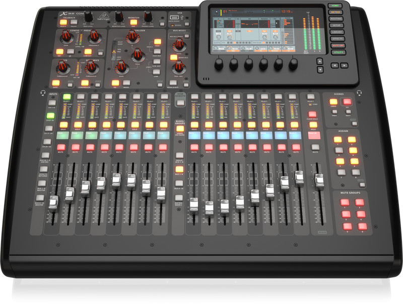 Bộ trộn âm thanh 32 kênh, BEHRINGER, model: X32 COMPACT nhập khẩu chính thức từ hãng Behringer
