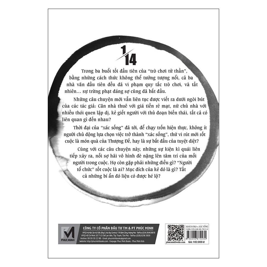 Tiểu Thuyết Trinh Thám 1/14 - Tập 2 - Khách Trọ Và Xác Sống (Tái Bản)