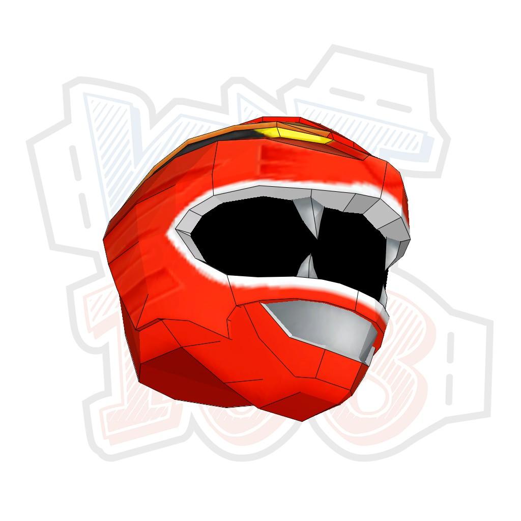 Mô hình giấy Anime Game Gaored Helmet (Đội lên được)