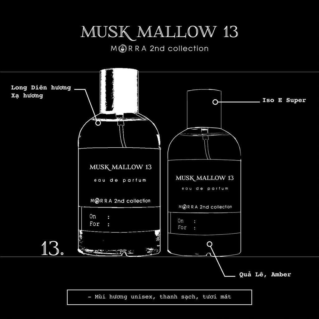 Nước hoa Morra Musk Mallow 13 - 30ml