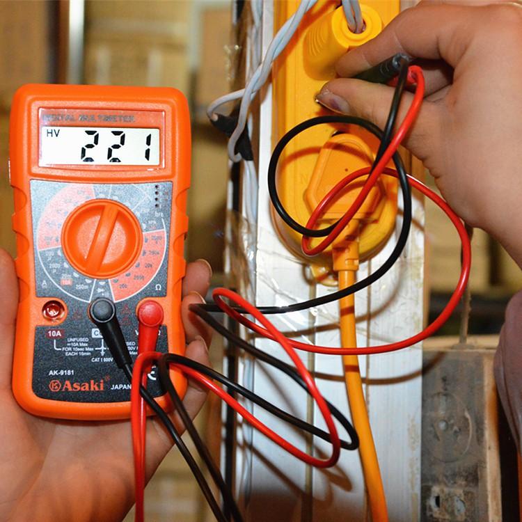Đồng hồ đo điện vạn năng Asaki AK-9181