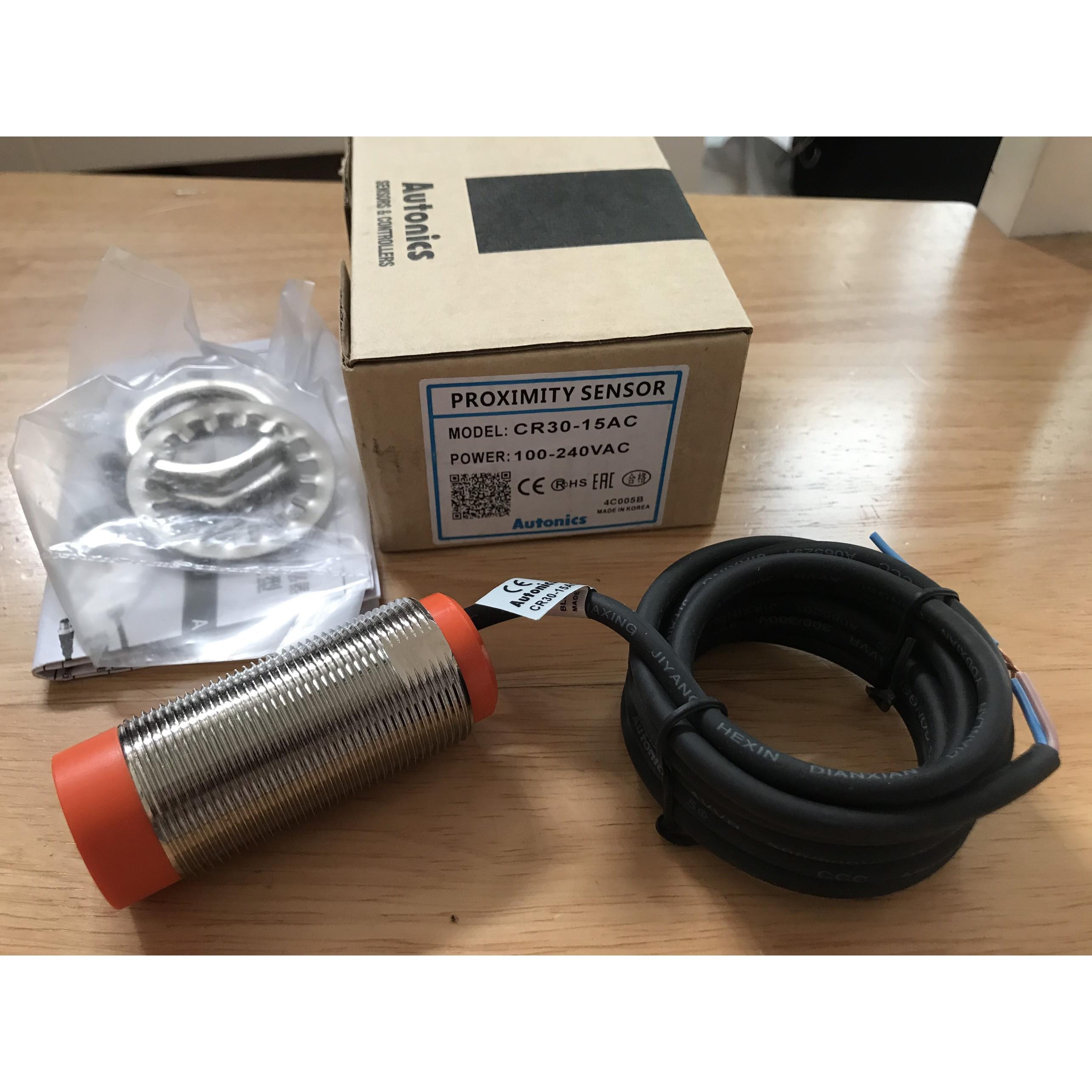 Cảm biến tiệm cận điện dung CR30-15AC Hàng nhập khẩu