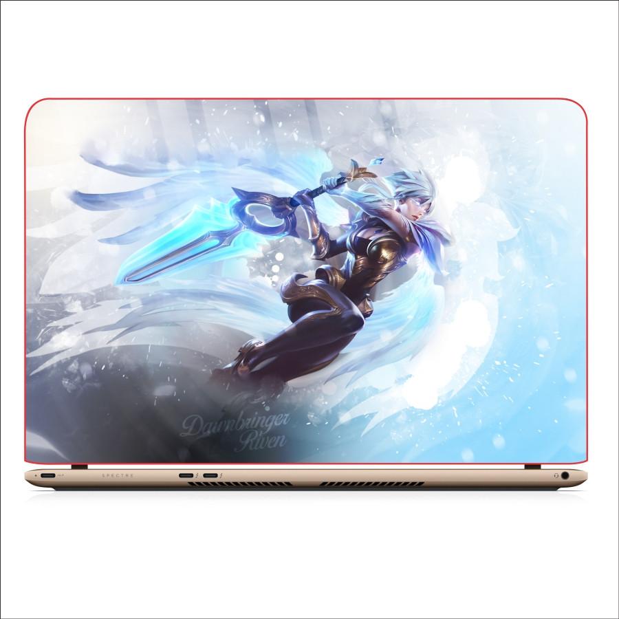 Miếng Dán Skin In Decal Dành Cho Laptop -  Riven LMHT 2