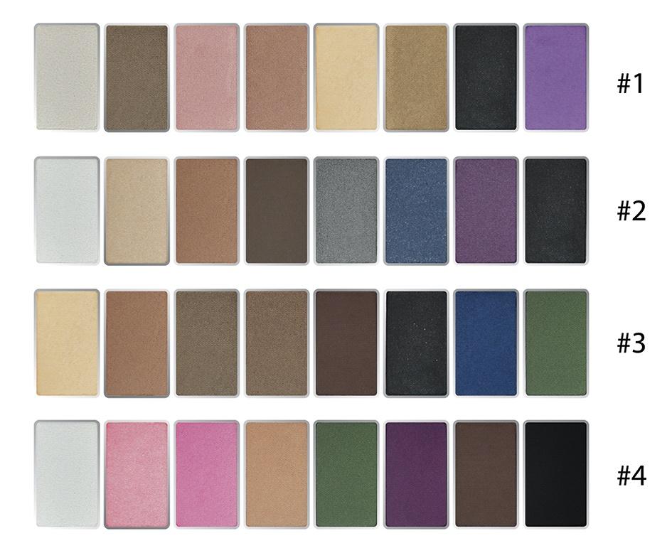 Phấn mắt 8 ô siêu mịn Mira Aroma Shadow Palette 8 Colors Hàn Quốc (2g x8) No.5 tặng kèm móc khoá