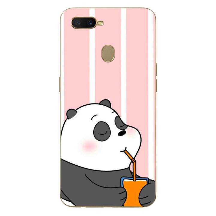 Ốp lưng dẻo Nettacase cho điện thoại Oppo A70399 PANDA06 - Hàng Chính Hãng