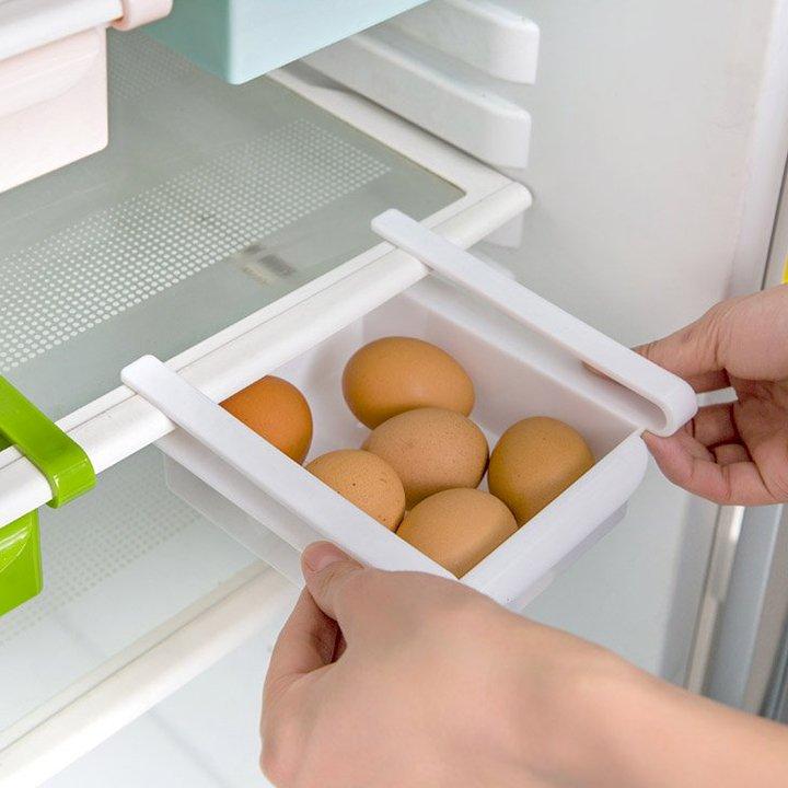 Khay nhựa để tủ lạnh - Giao màu ngâu nhiên