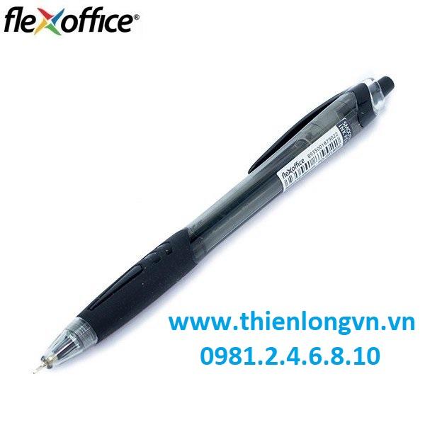 Combo 5 cây Bút Gel B Flexoffice FO-GEL-B012 màu đen