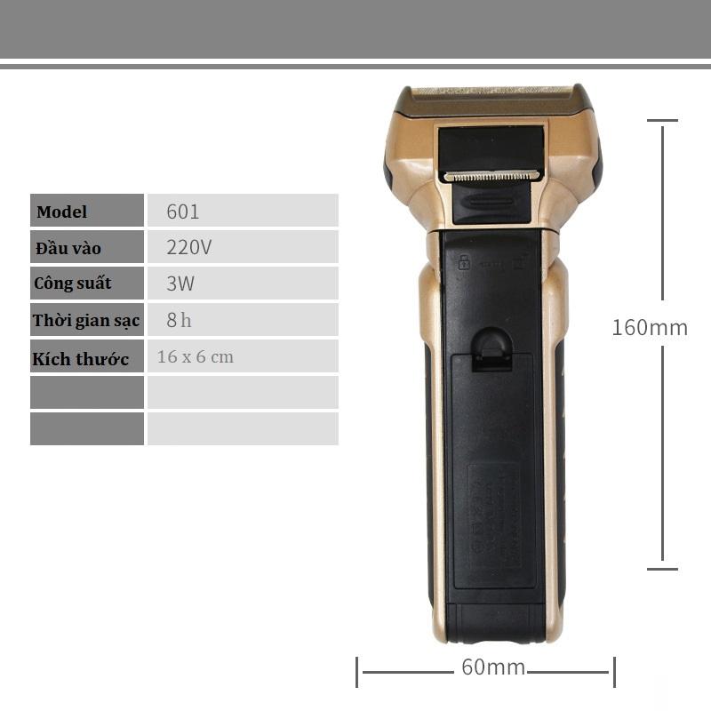 Máy Cạo Râu Đa Năng 3 Chức Năng  Cắt Tóc Cạo Râu Tỉa Lông Mũi Kiểu Dáng Cổ Điển Nam Tính SK601