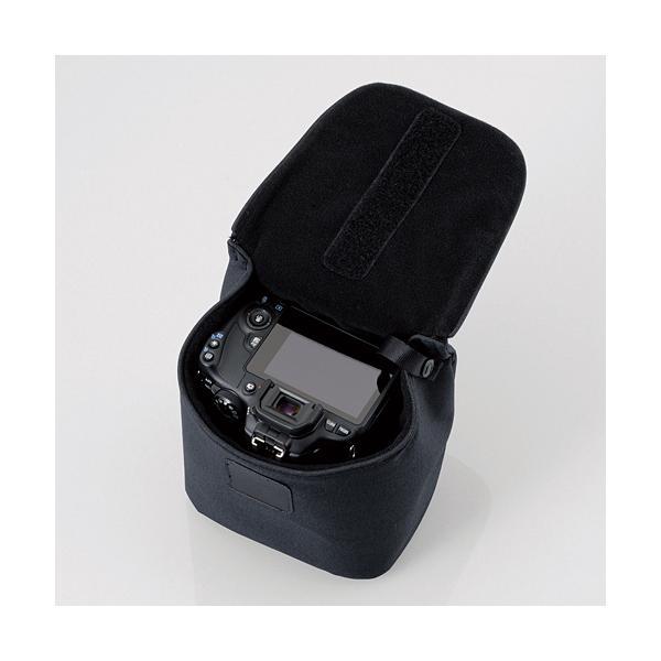 Túi Đựng Máy Ảnh Và Phụ Kiện ELECOM DGB-S032 (16 x 12 x 17 cm) - Hàng chính hãng
