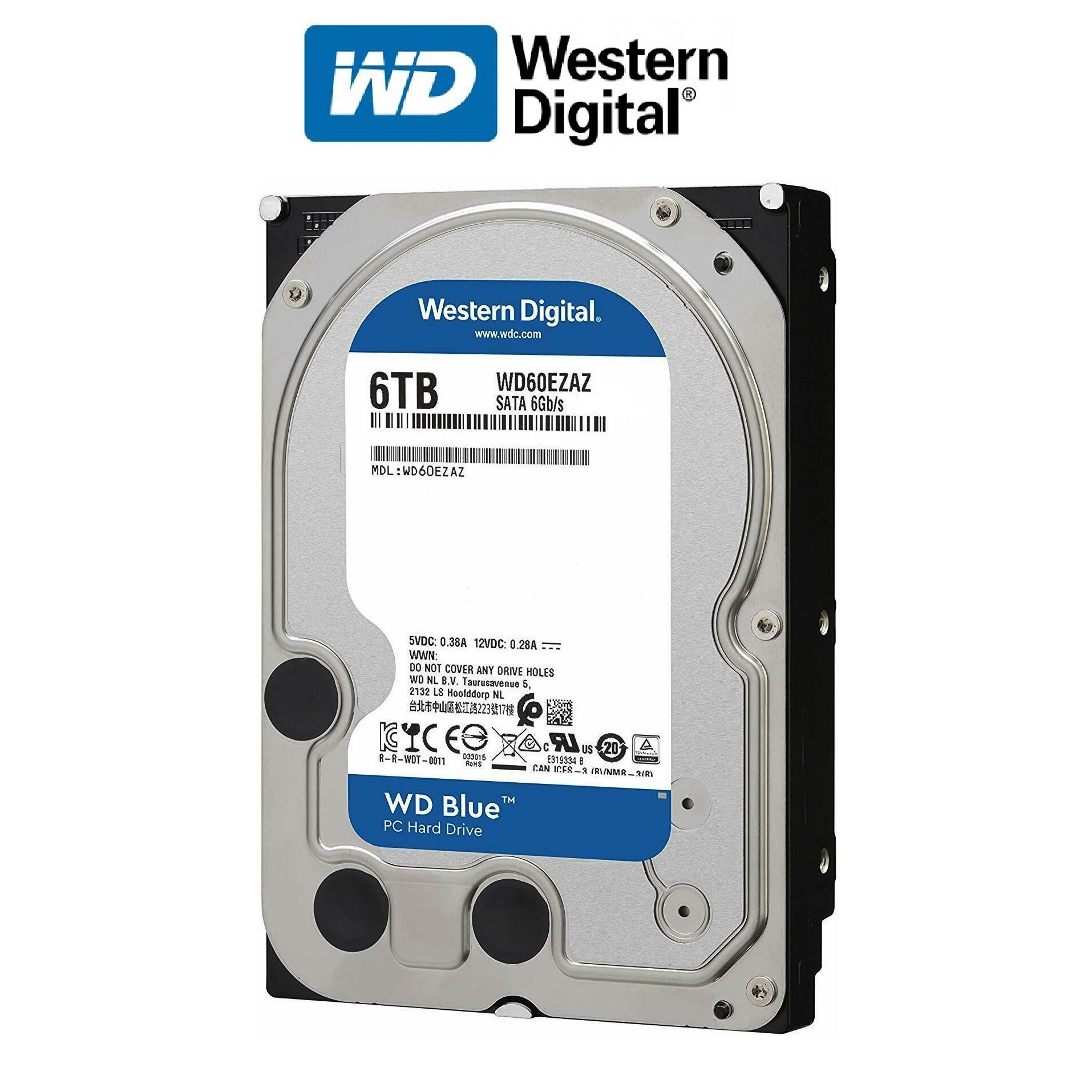 Ổ cứng gắn trong HDD Western Digital BLUE 6TB - Hàng nhập khẩu