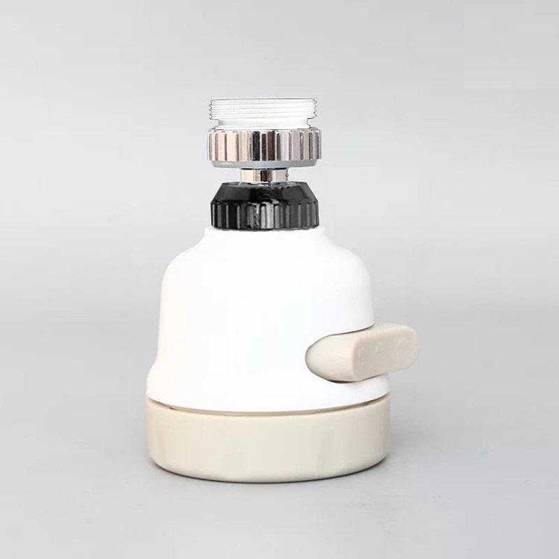 Đầu vòi tăng áp điều hướng 360 độ với 3 chế độ chảy