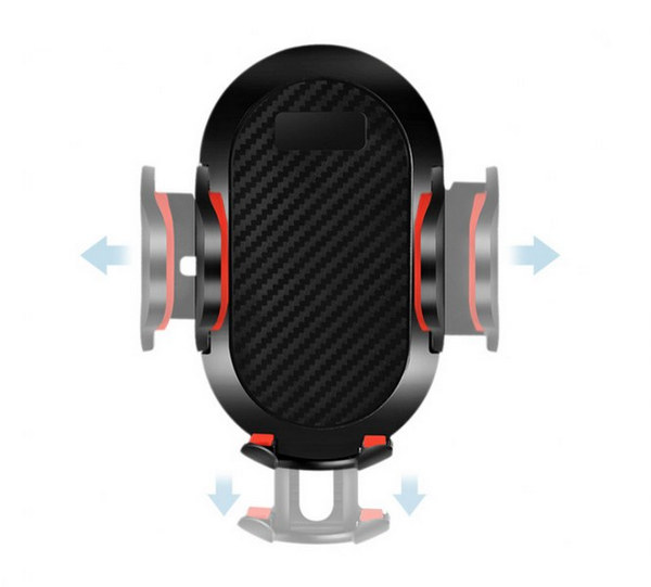 Giá đỡ điện thoại trên oto xe hơi cổ dài - Có 2 chân hút + chân kẹp đa năng tiện dụng