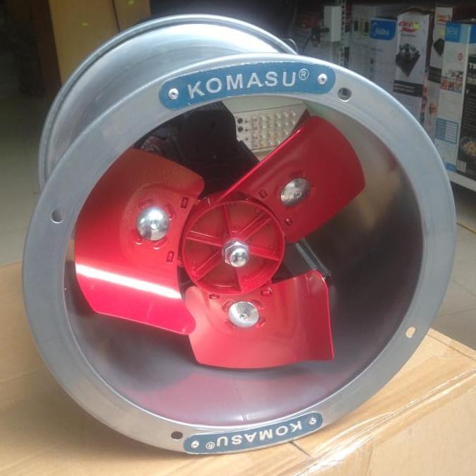 Quạt thông gió Komasu khung tròn KM60T - Hàng chính hãng