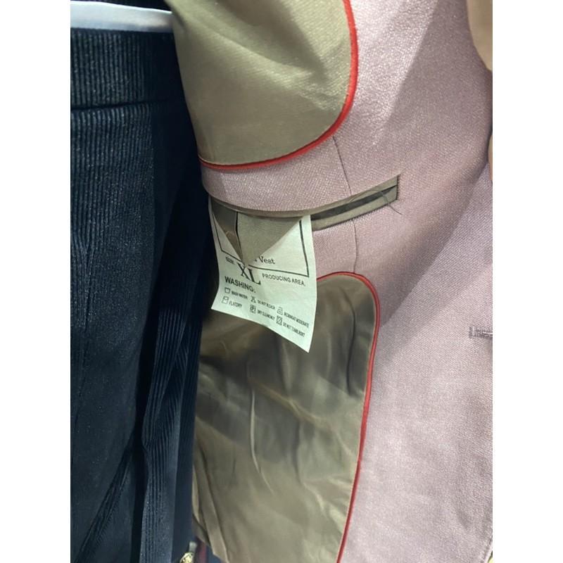 Áo vét hồng cao cấp siêu sale