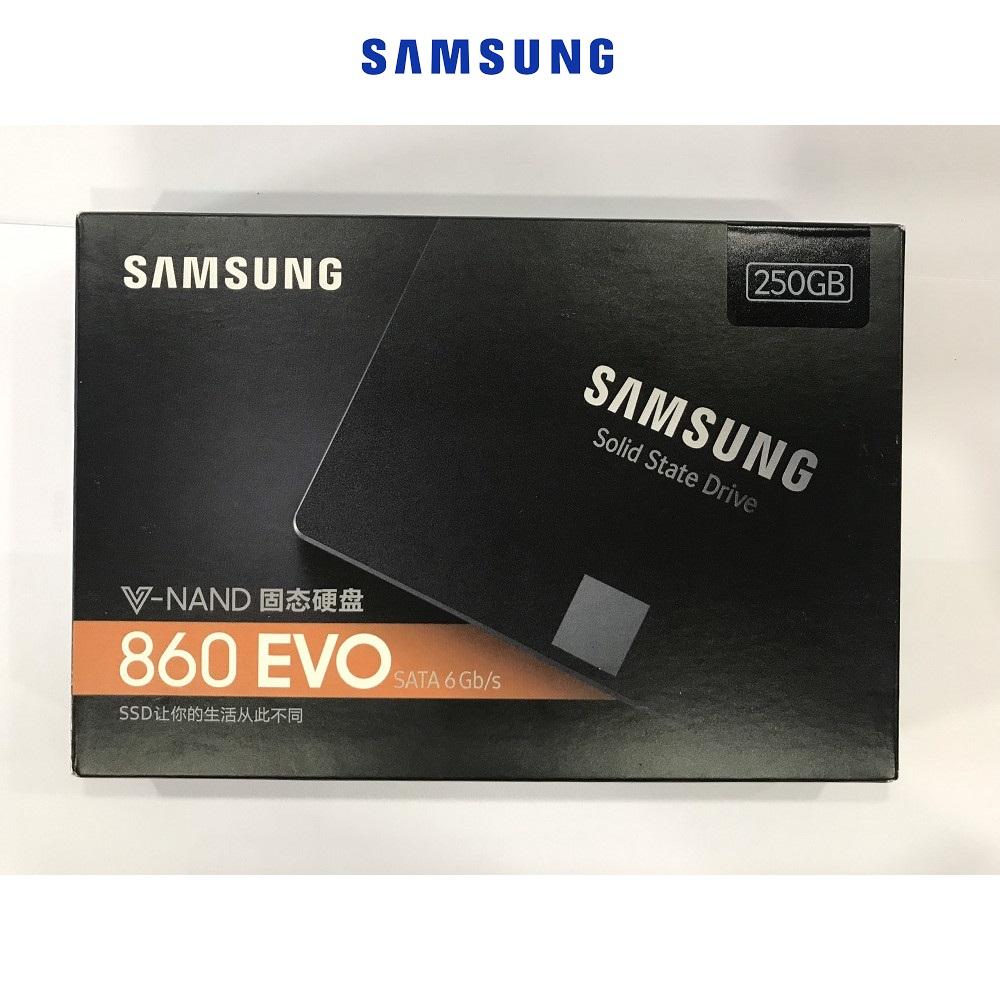 Hình ảnh Ổ Cứng SSD Samsung 860 EVO 250GB Sata iii 2.5 inch - Hàng Nhập Khẩu