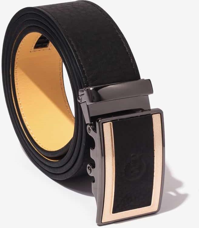 Thắt Lưng Nam Da Bò Cao Cấp Màu Đen WT Leather 1429.2