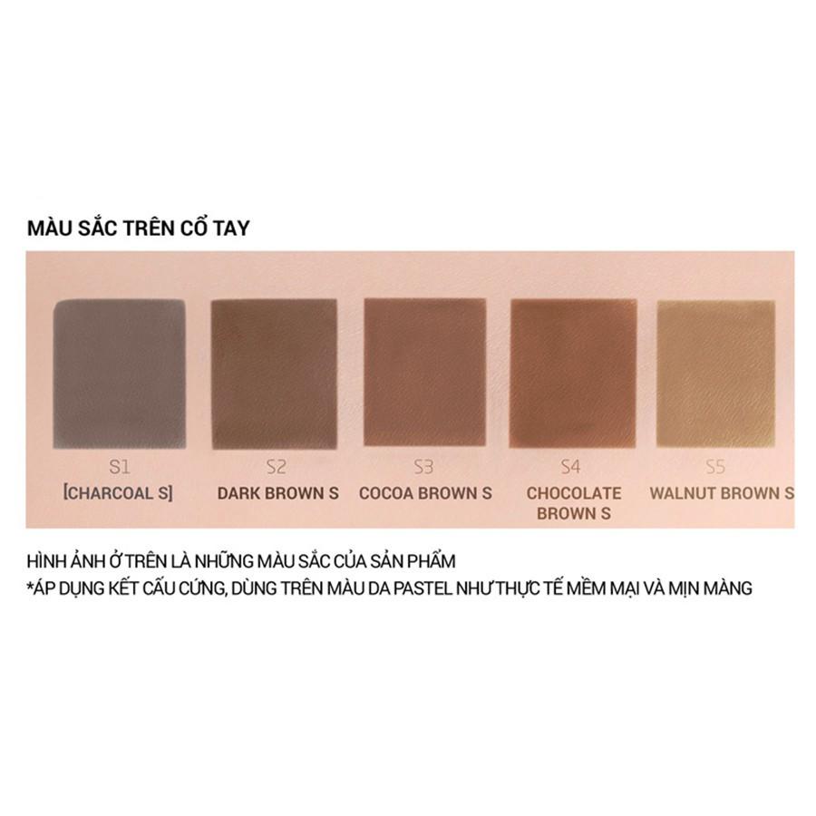 Kẻ chân mày Bbia Last Auto Eyebrow Slim 0.06g (5 màu)