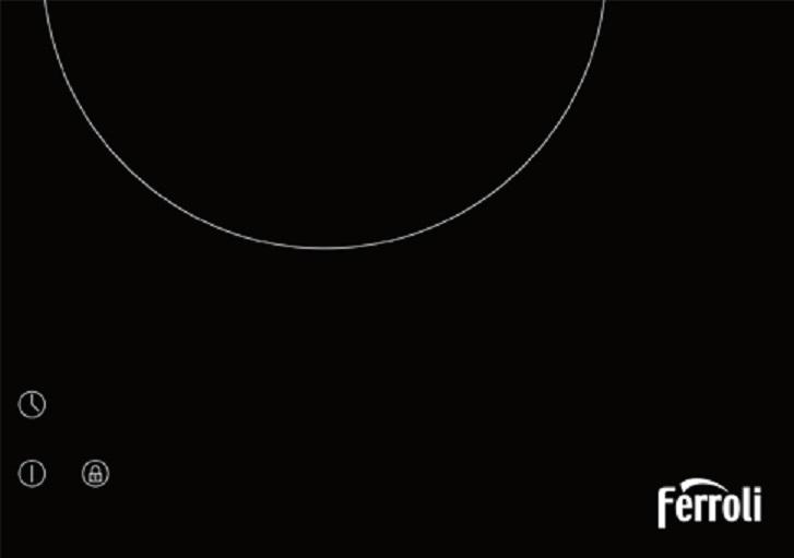 Bếp từ FERROLI ID4000BN mặt kính Schott Ceran, điều khiển số Hàng chính hãng