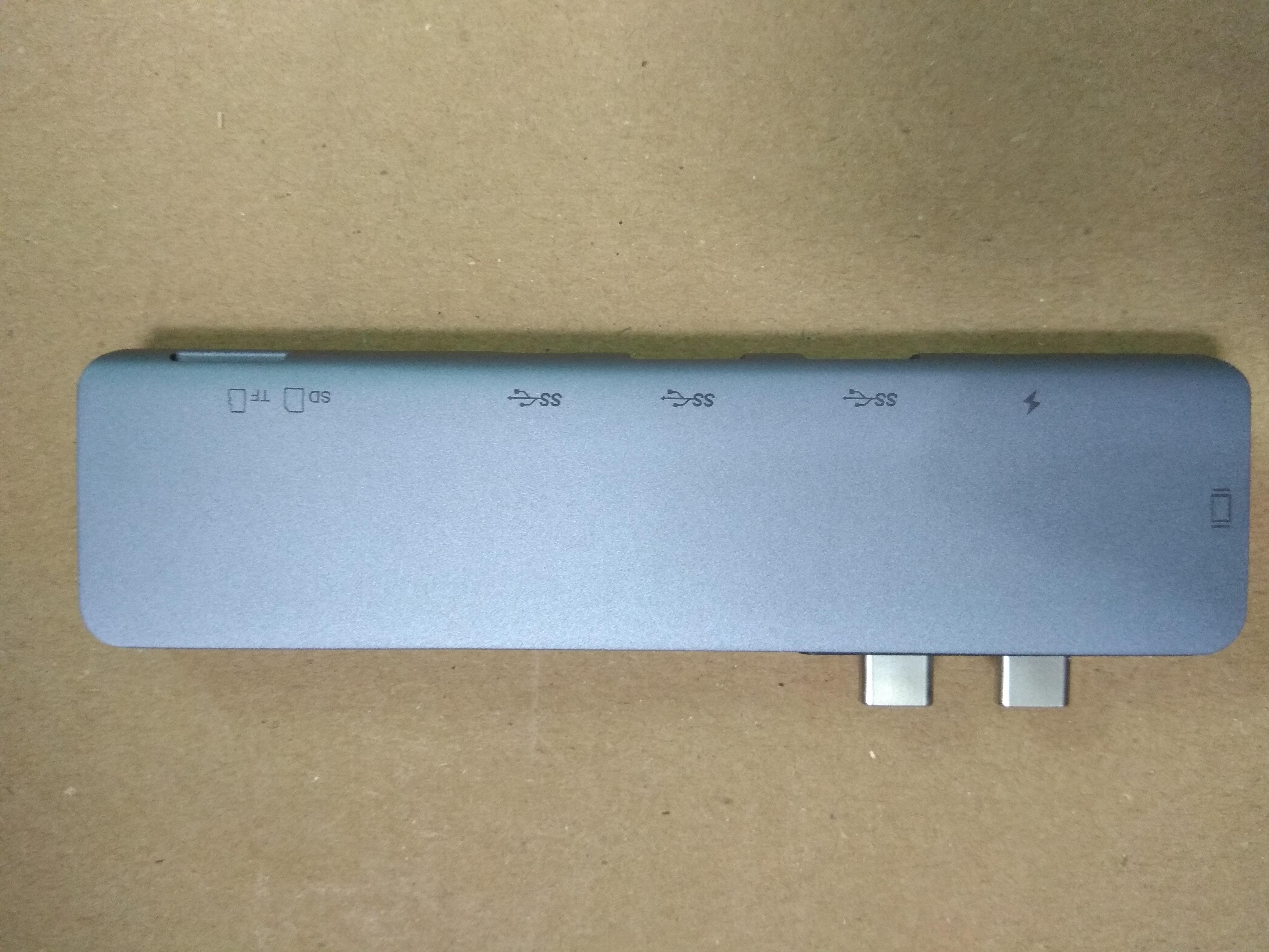 Cổng Chuyển Hub USB C, Type-C ra HDMI 4K 60hz/ usb 3.0/ PD/ TF/ SD dành Cho Macbook Pro và Macbook Air