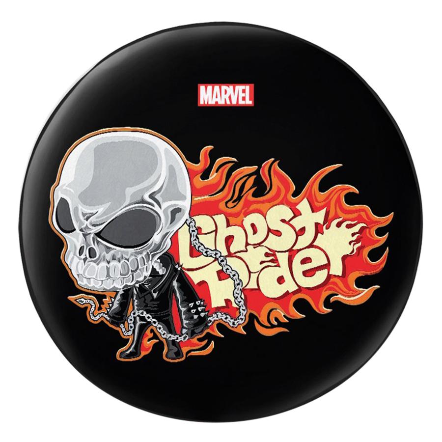 Gối Ôm Tròn In Hình Ghost Rider - GOFF275
