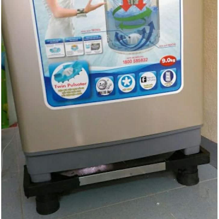 Chân máy giặt - tủ lạnh đa năng, CHÂN ĐỠ MÁY GIẶT, TỦ LẠNH ( Máy giặt từ 6- 9kg. tủ lạnh từ 90l- 290l)