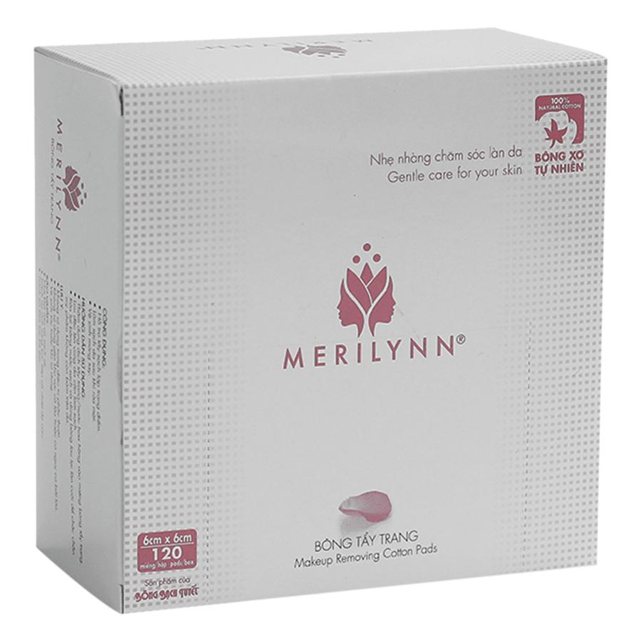 Bông Tẩy Trang Merilynn Bông Bạch Tuyết TP157 (120 Miếng)