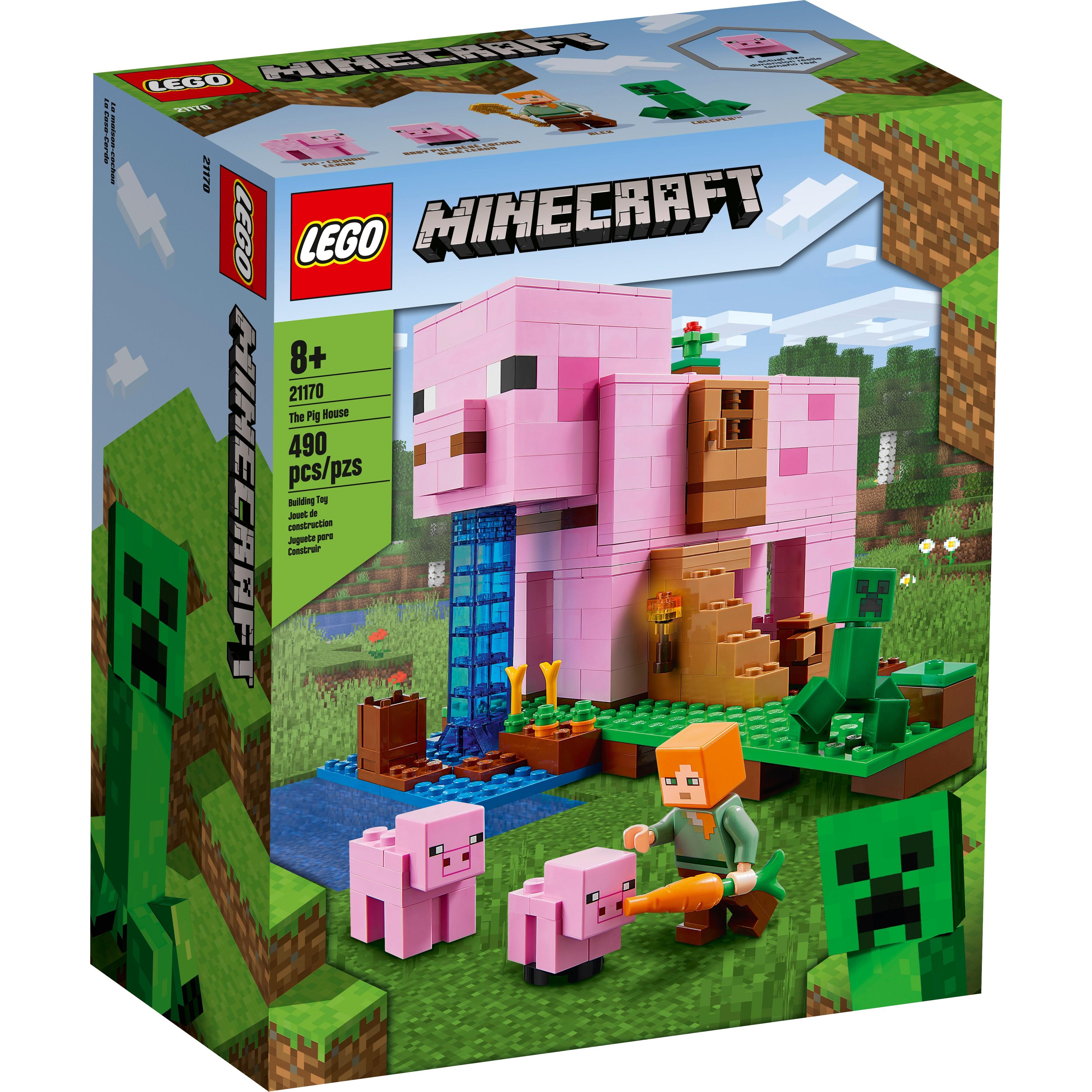 Đồ chơi LEGO Minecraft Ngôi Nhà Heo 21170