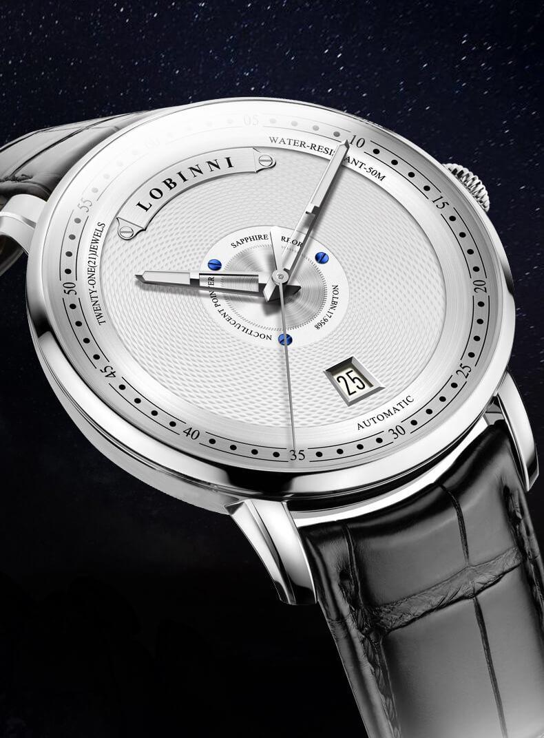 Đồng hồ nam chính hãng Lobinni No.1602-2