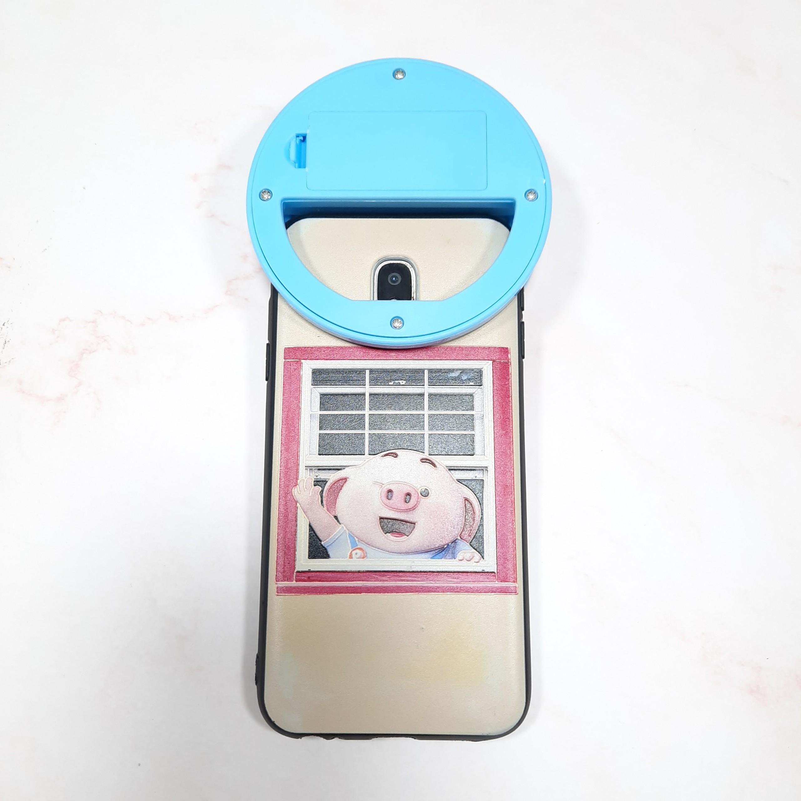 Dụng Cụ Selfie Ring Light Xanh Dương