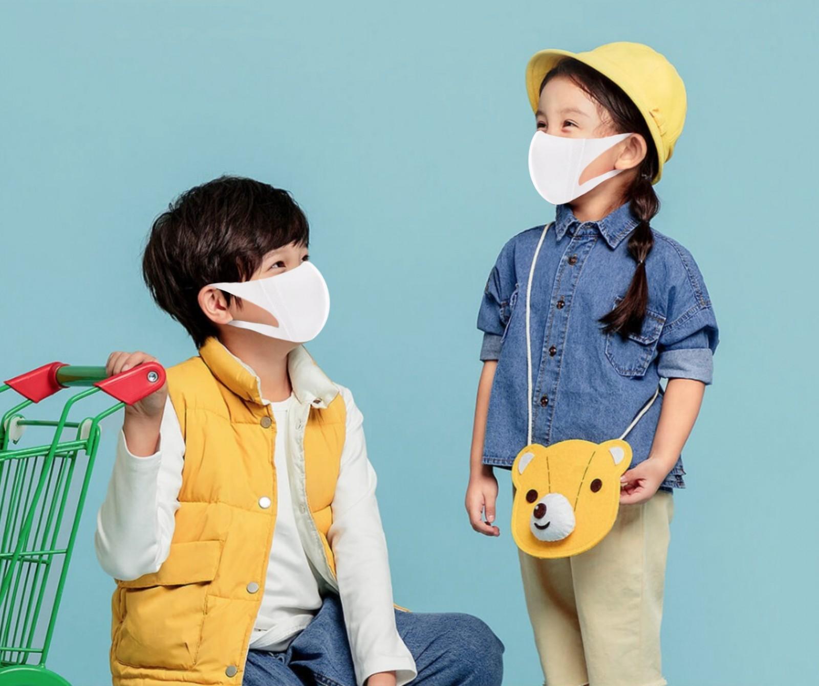 Hộp 15 Chiếc Khẩu Trang Niva 3D Thông Minh Dành Cho Trẻ Em Từ 6 Tuổi Đến 15 Tuổi